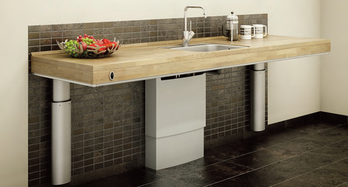 Height Adjustable Worktop Frames Electrical Lifts