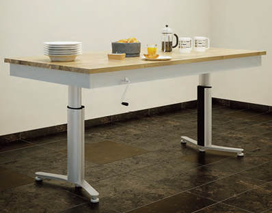 Manua-Electric Kitchen Tables