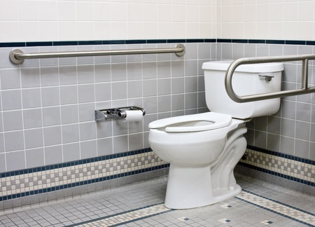 preventing accidents in disabled bathroom