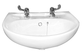 Wall mounted Disabled wash basins